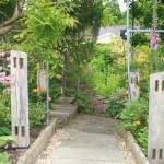 Entry to the Herb Garden.